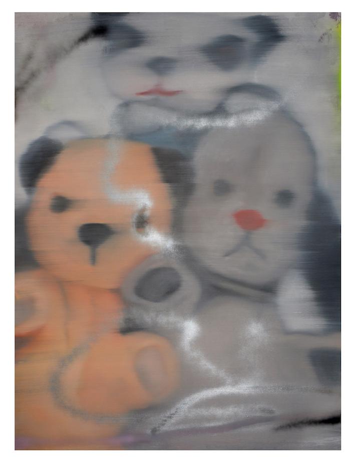 hands panda dog bear