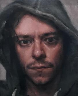 Self Portrait in Hood